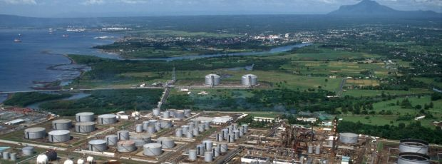 Shell's refinery at Batangas in the Philippines