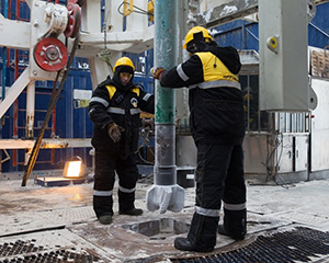 Rosneft drills at northernmost Russian Arctic well