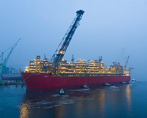 Video: Prelude FLNG arrives in Browse basin